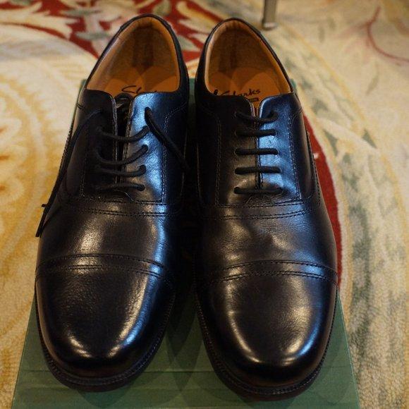 Clarks Shoes | Beeston Cap Black Men